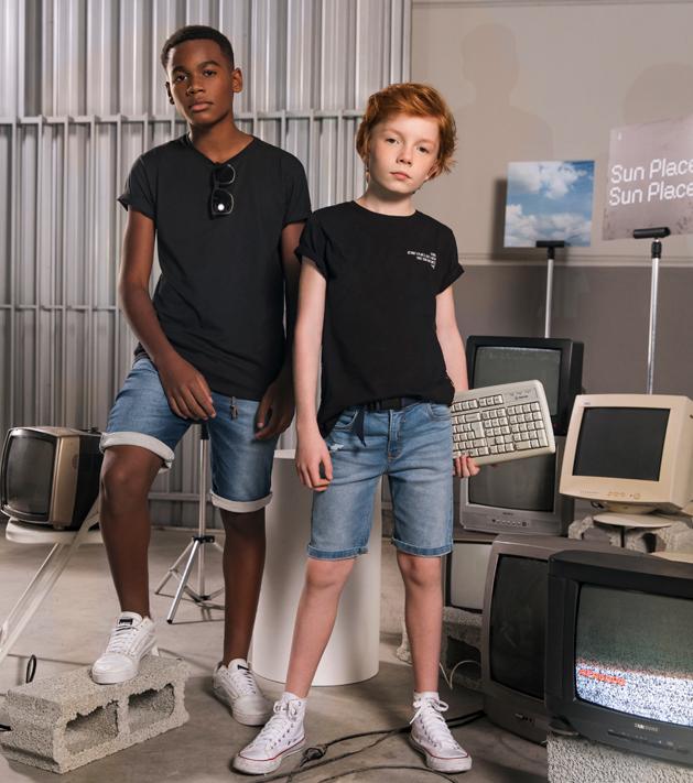 Jeans Premium Rosa Azul Kids